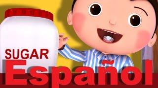 Johny, Johny. ¿Sí, papá? | Canciones infantiles | LittleBabyBum