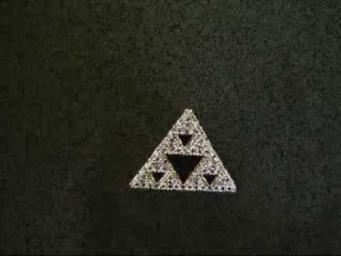 Фрактал Пирамида Серпинского своими руками