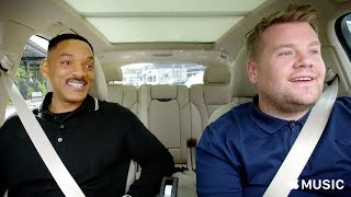 Carpool Karaoke:  Will Smith and James Corden