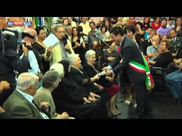 9 إخوة من ايطاليا مجموع أعمارهم 820 عاماً