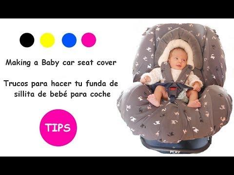 Tips para hacer una funda de sillita de bebé para coche
