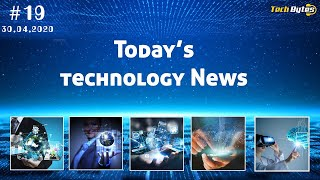 Today's Top 5 Interesting Trending Technological News | #19 | ENGLISH |Tech Bytes