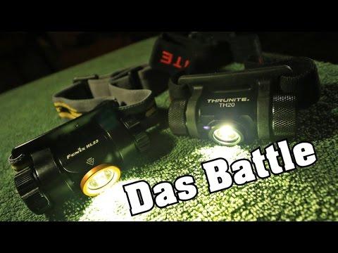 Günstige Stirnlampen im vergleich TH20 vs HL23