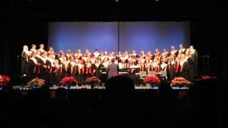 """ROHS Varsity Choir performing """"Mele Kalikimaka"""""""