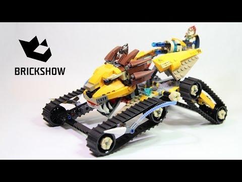 Vidéo LEGO Chima 70005 : Le chasseur royal de Laval