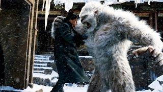 Встреча со снежным человеком в США. #Йети и человек