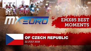 EMX85 Race1 Best Moments - Round of Czech Republic 2018 #motocross