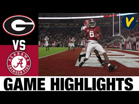 #3 Georgia vs #2 Alabama Highlights | Week 7 2020 College Football Highlights