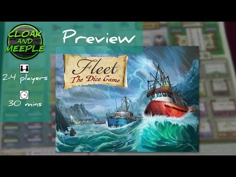 Cloak and Meeple: Preview | Flet: The Dice Game (Eagle-Gryphon Games)