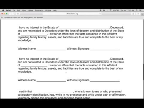 Mississippi small estate affidavit pdf form - Fill Out and