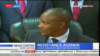 Presser by NASA leaders on resistance and security of fishermen