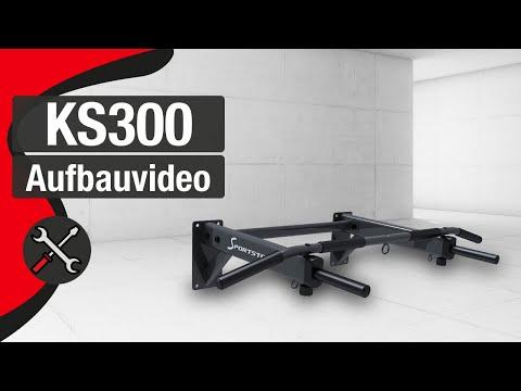 SPORTSTECH KS300 Klimmzugstange - Aufbauanleitung/construction/structure/estructura/struttura