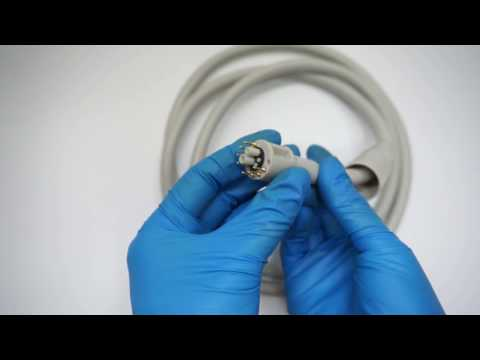 KA701 1.5M Length Dental Handpiece Tubing with Adapter, Compatible with KaVo 701 Micromotor