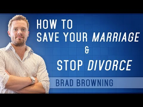 Video How to Save Your Marriage And Stop Divorce (Complete Guide for 2015)