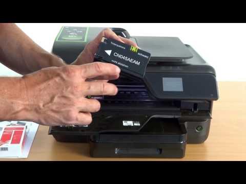 Tinten-Patronenwechsel beim HP Officejet Pro 8600 / E / Plus