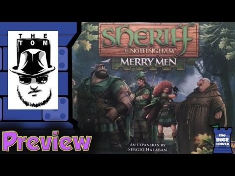 Sheriff of Nottingham: Merry Men Preview - with Tom Vasel