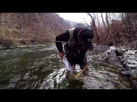 Fly fishing: River opening in the French Alps!