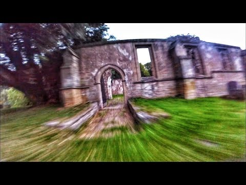 flying-fpv-drone-at-abandoned-church-uk
