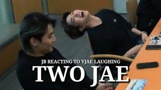 2Jae - Jaebum Reacting To Youngjae Laughing
