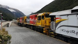 preview picture of video 'Part 3 – New TranzAlpine 2014 – Pass under the Southern Alps on our way to Greymouth.'