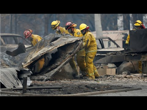 Haze from wildfires engulfs Northern California
