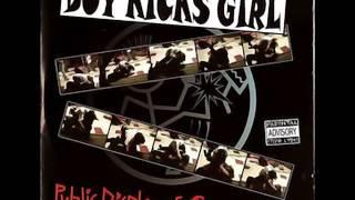 """Boy Kicks Girl """"Denny's Girl"""""""