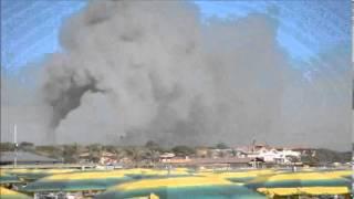 preview picture of video 'Incendio di Marina di Grosseto 01'