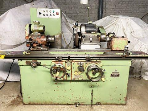 TOS 2Ud P2 External Cylindrical Grinder