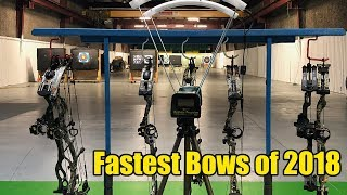 2018 Hunting Bow Speed Test: Mathews - Hoyt - PSE - Bowtech - Obsession - Prime - APA