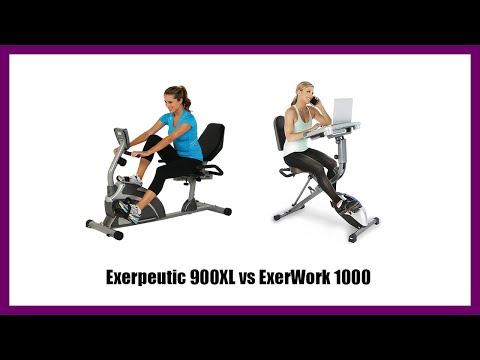 Exerpeutic 900XL vs ExerWork 1000
