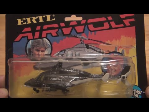 80's Ertl diecast tv and movie cars PART 1