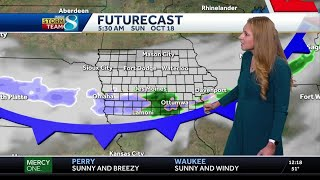 Potent system brings rain/snow mix to the weekend forecast