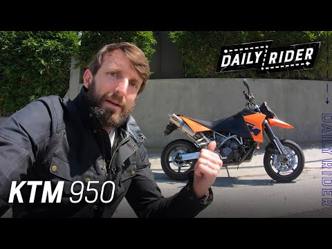 2006 KTM 950 Supermoto Review | Daily Rider