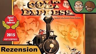 Colt Express (Spiel des Jahres 2015) - Brettspiel - Spiel - Board Game - Review
