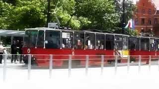 preview picture of video 'Al. Solidarności Toruń, Thorn, Poland, Europe, Grzegorz Orzechowski'