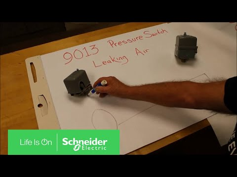 Video: The 9013 GHG2J99X 2-way pressure valve always leaks air causing the compressor to cycle on and off.