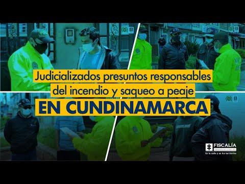 Fiscal Francisco Barbosa: Judicializados presuntos responsables de vandalismo en Cundinamarca