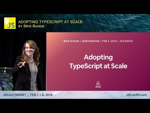 Adopting Typescript at Scale