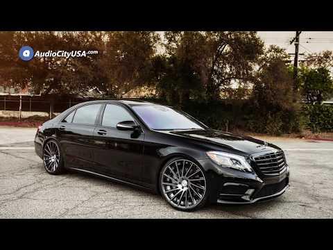 2015 Mercedes Benz S550 22″ Staggered Road Force Wheels RF16 Gun Metal Rims    AudioCityUSA