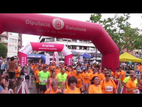 Salida 5km 2ª Carrera Correos Express Sansi Sant Adrià 06/04/17