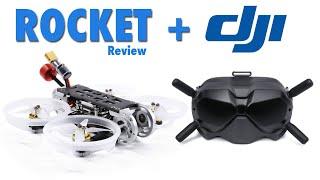 The Popular GEPRC Digital FPV Rocket Drone + DJI FPV Goggles - Review