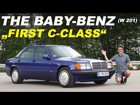 How the Baby-Benz created the first Mercedes C-Class! REVIEW W201 Mercedes 190