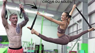 Gymnasts tries 'Circus Arts' with Professionals {I'm Joining}