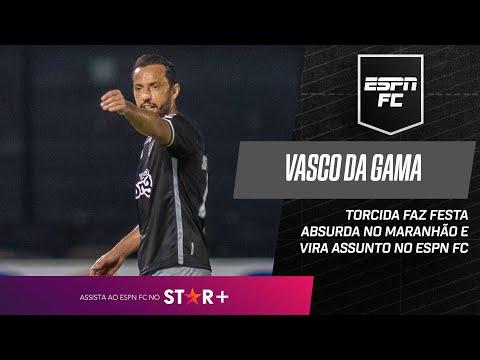 TORCIDA DO VASCO FAZ FESTA SURREAL PARA RECEBER TIME NO MARANHÃO   ESPN FC