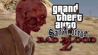 GTA San Andreas Apocalipsis Zombie | BAD BLOOD Z | LA PELÍCULA