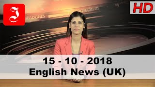News English UK 15th Oct 2018