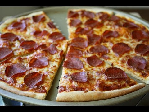 Best Pepperoni Pizza – No Grease Crispy Crust.