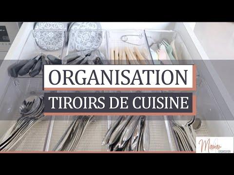 [RANGEMENT CUISINE] J'organise tiroirs cuisine | Kitchen drawers organization ✖MAMAN ORGANISATION✖