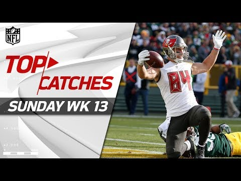 Top Catches from Sunday | NFL Week 13 Highlights