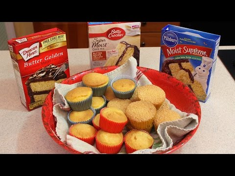 Video Taste Test to See Who Makes the Best Cupcake Mix